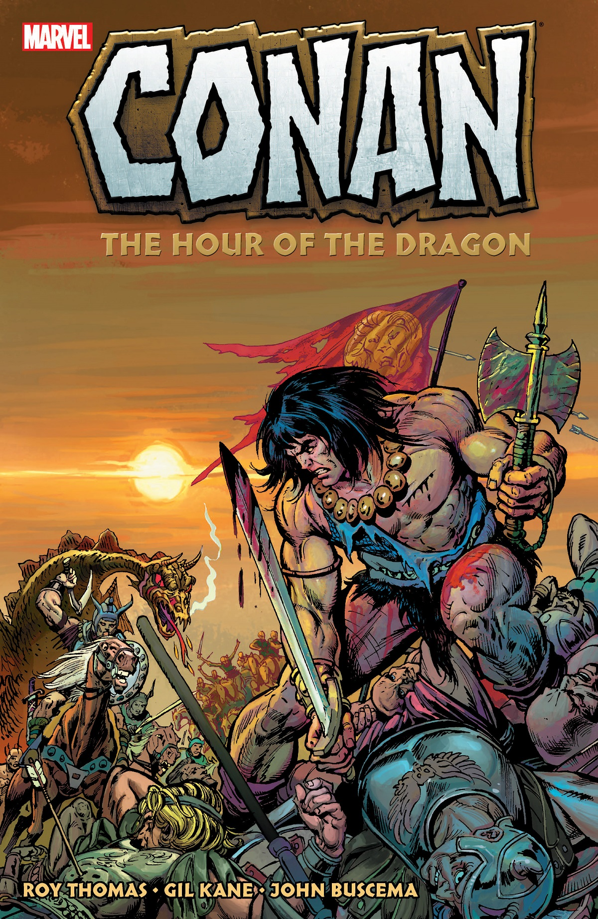 Conan: The Hour Of The Dragon (Trade Paperback)