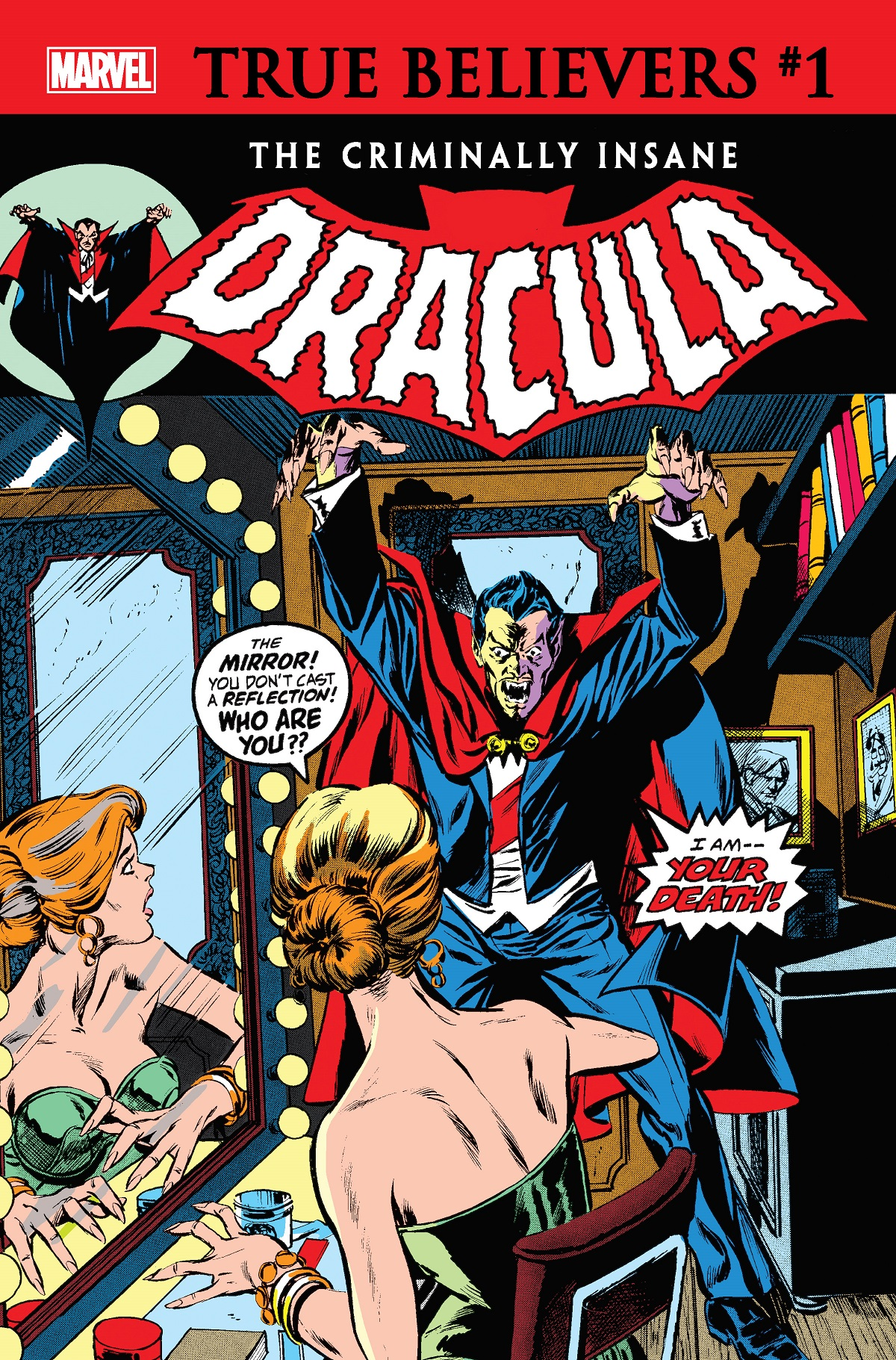 True Believers: The Criminally Insane - Dracula (2020) #1