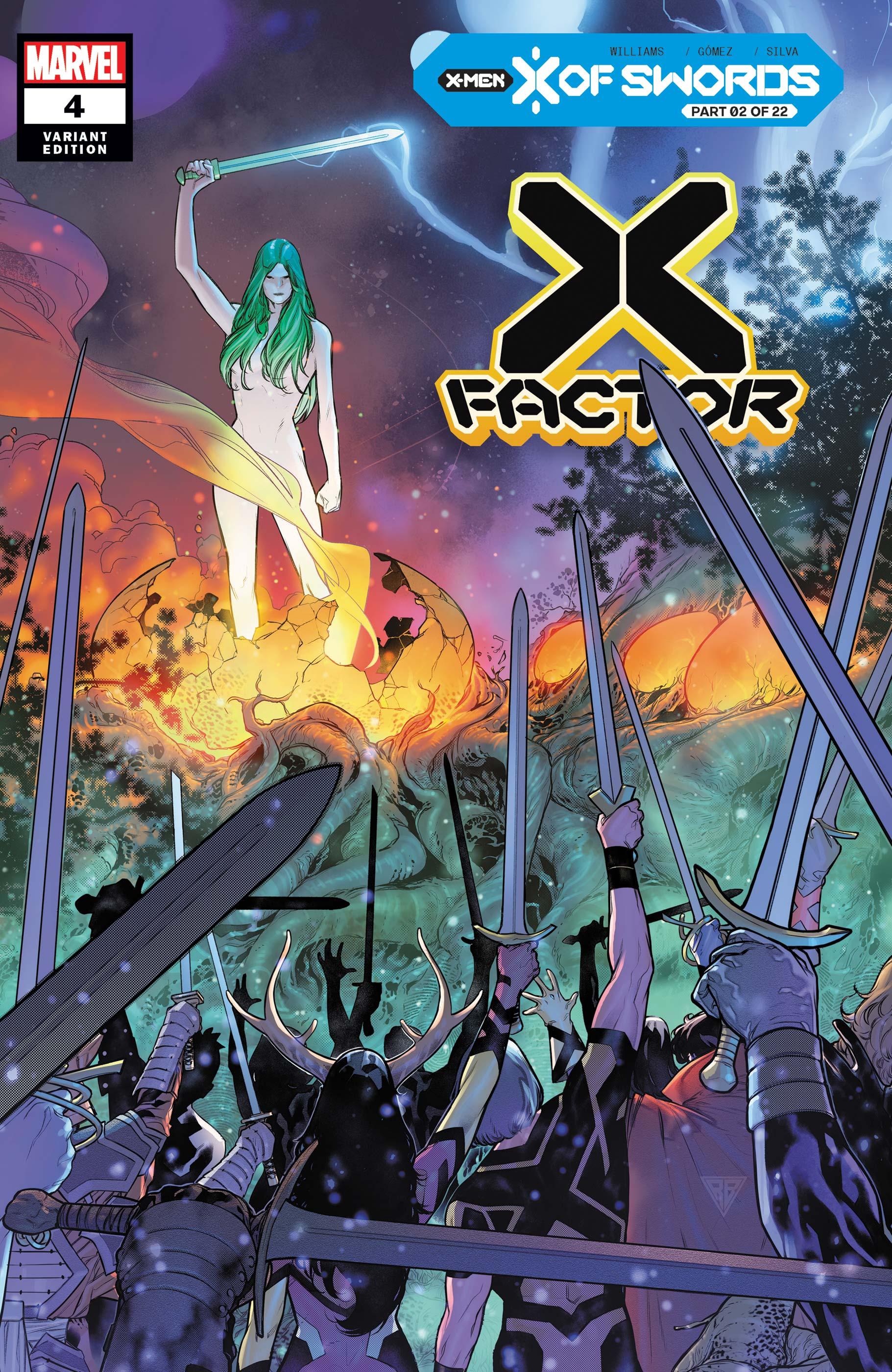 X-Factor (2020) #4 (Variant)
