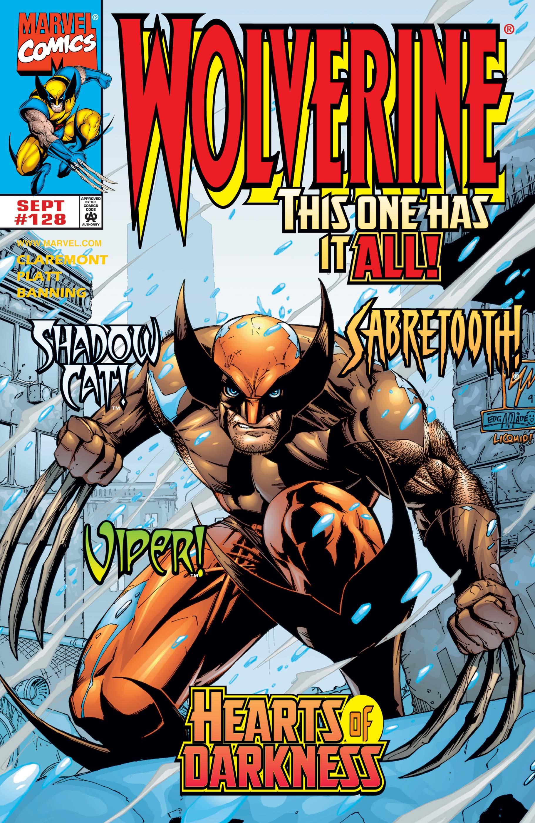 Wolverine (1988) #128