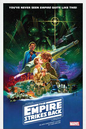 Star Wars: The Empire Strikes Back - The 40th Anniversary Covers by Chris Sprouse (2021) #1 (Variant)