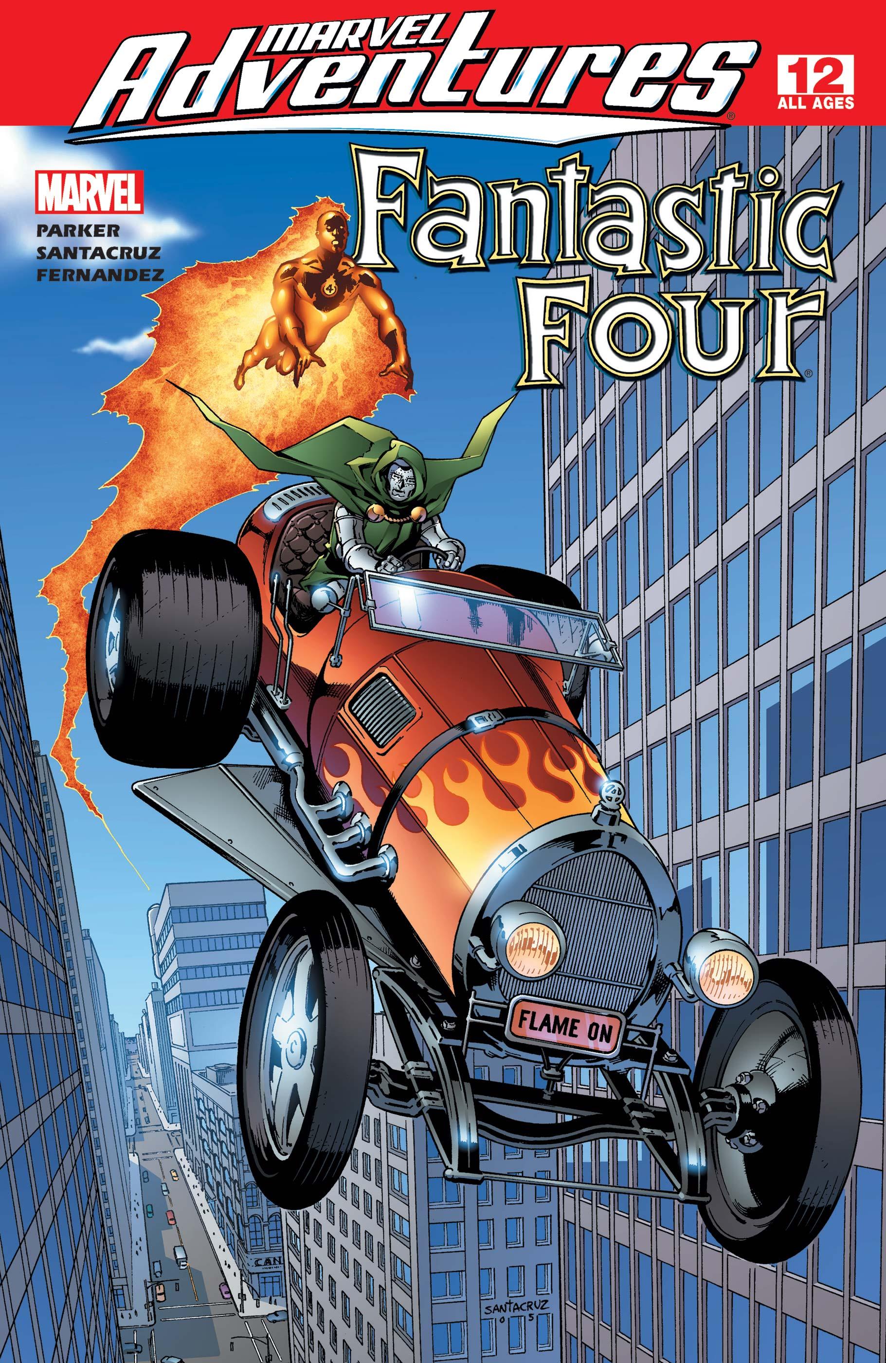 Marvel Adventures Fantastic Four (2005) #12