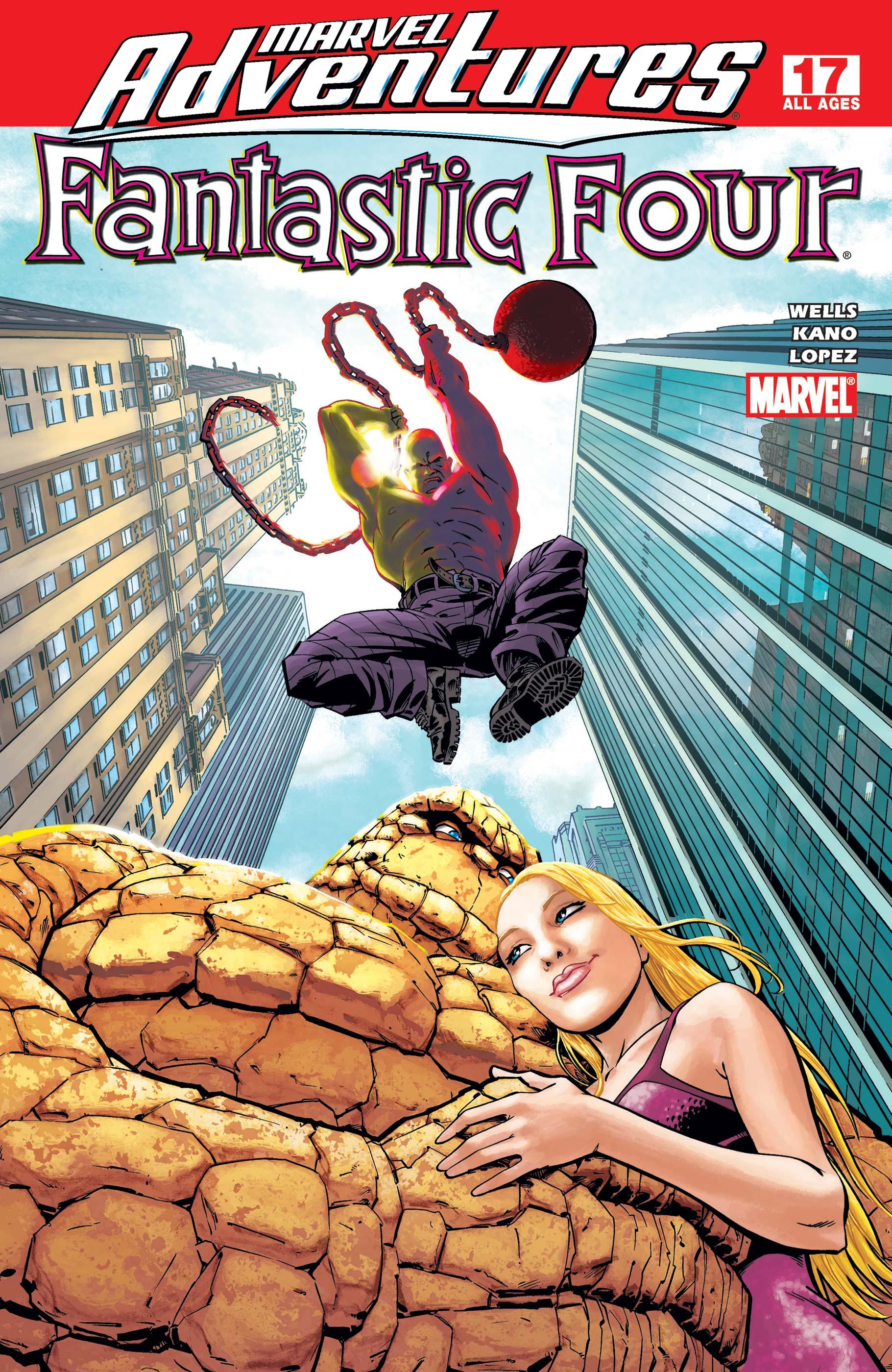 Marvel Adventures Fantastic Four (2005) #17
