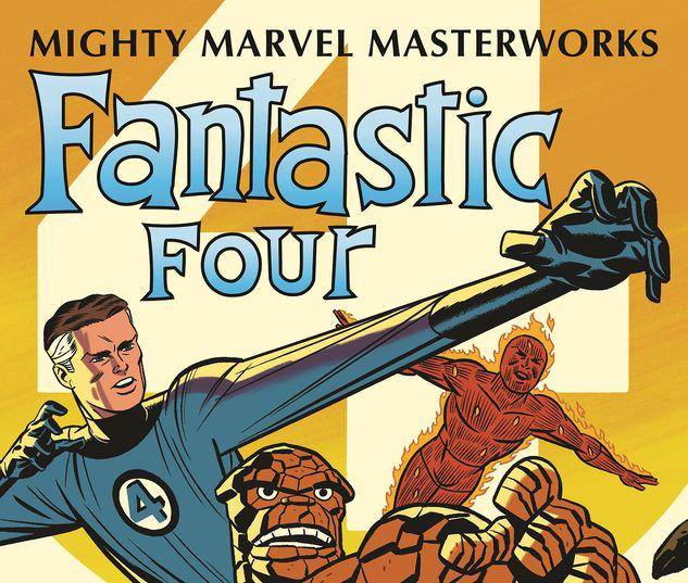 MIGHTY MARVEL MASTERWORKS: THE FANTASTIC FOUR VOL. 1 - THE WORLD'S GREATEST HEROES GN-TPB MICHAEL CHO COVER #1
