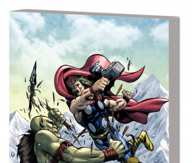 MARVEL ADVENTURES THOR & THE AVENGERS DIGEST