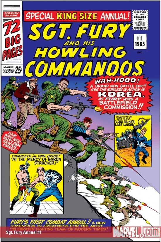 Sgt. Fury and His Howling Commandos Annual (1965) #1