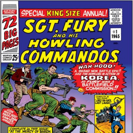 Sgt. Fury and His Howling Commandos Annual (1965 - 1971)