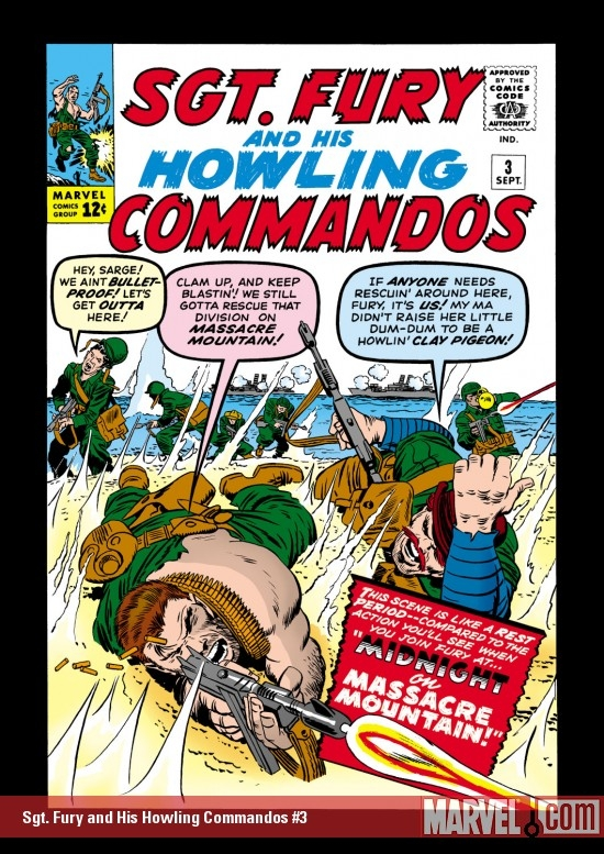 Sgt. Fury and His Howling Commandos (1963) #3