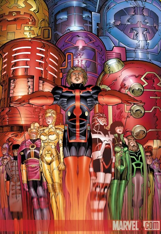 Eternals (2006) #7 (John Romita Jr. Variant)
