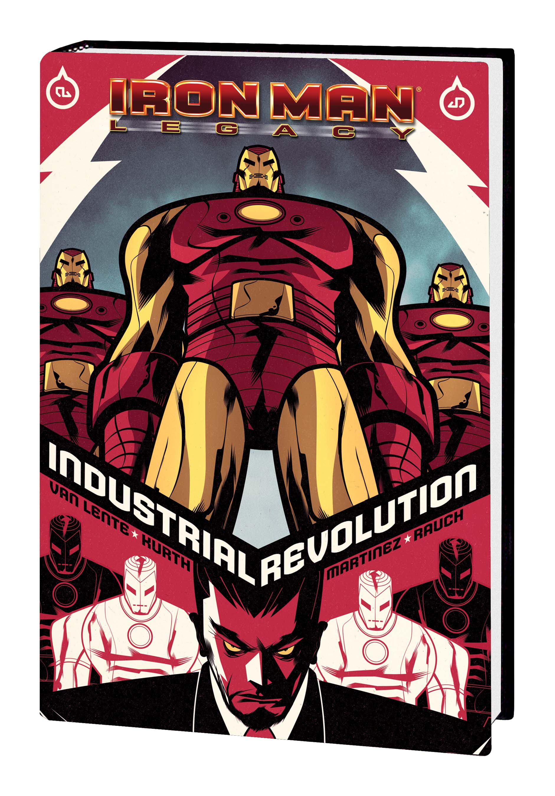 Iron Man: Industrial Revolution (Hardcover)