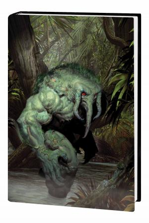 MAN-THING OMNIBUS HC OLIVETTI COVER (Hardcover)