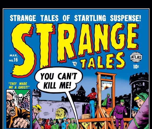 Strange Tales (1951) #16 Cover