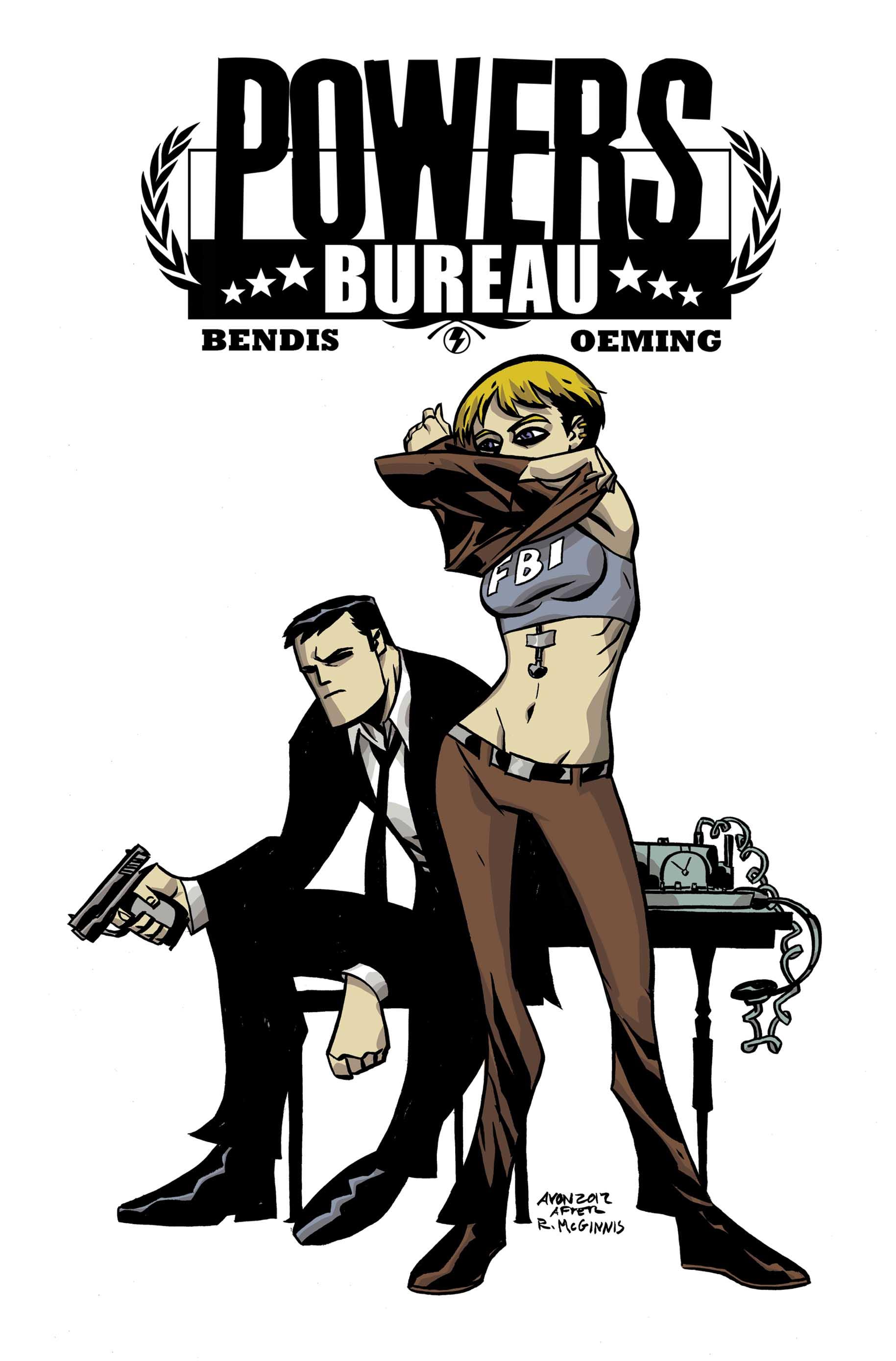 Powers: Bureau  (2012) #4