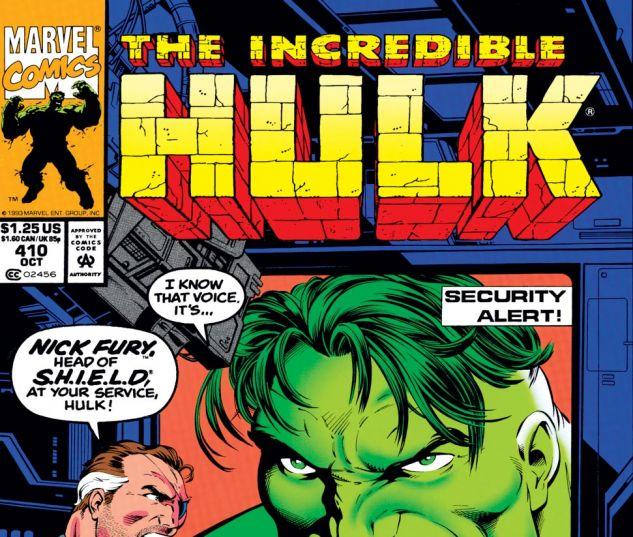 Incredible Hulk (1962) #410 Cover