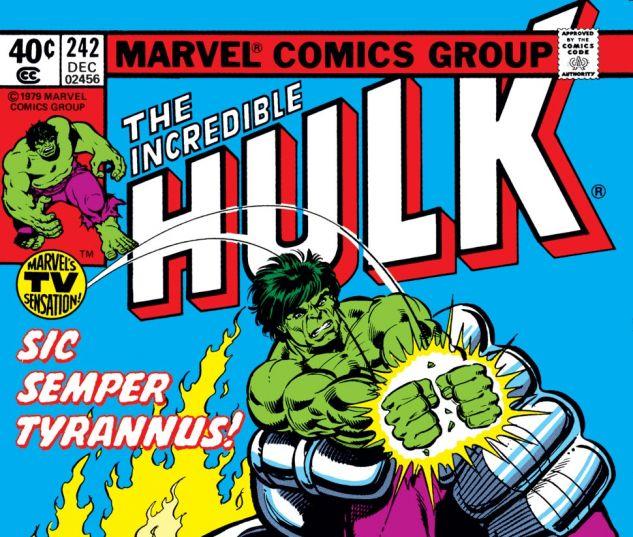 Incredible Hulk (1962) #242 Cover