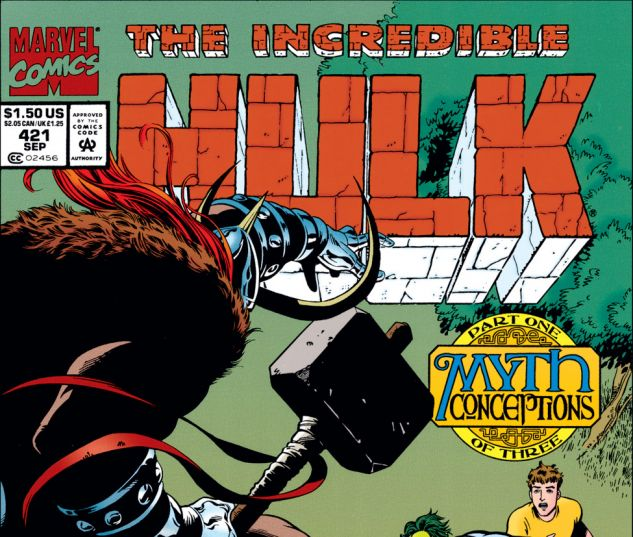 Incredible Hulk (1962) #421 Cover