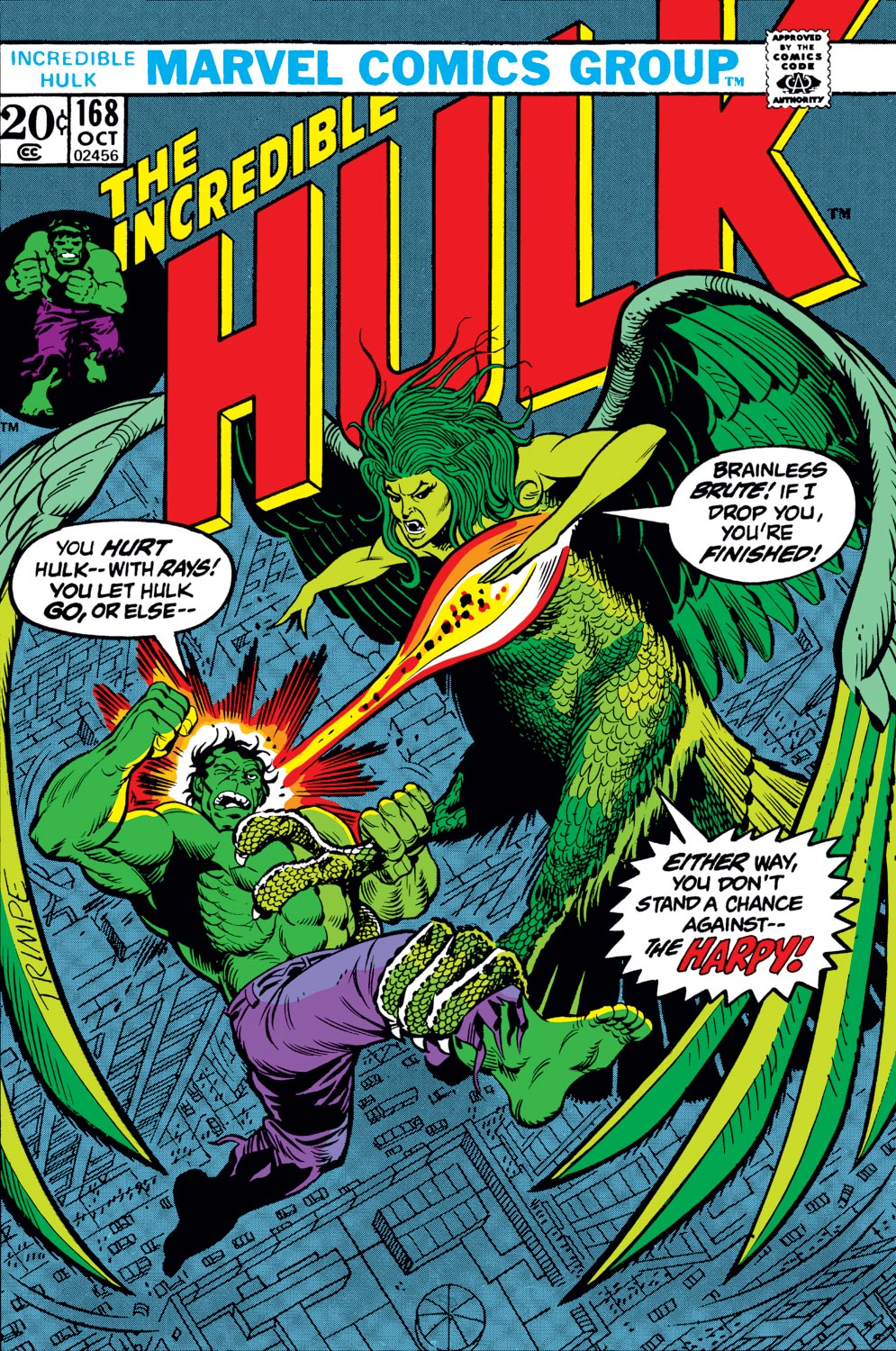 Incredible Hulk (1962) #168