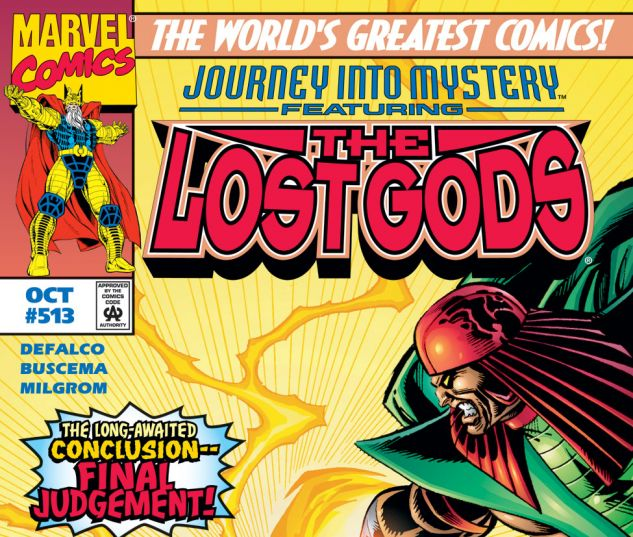 Journey Into Mystery (1996) #513 Cover