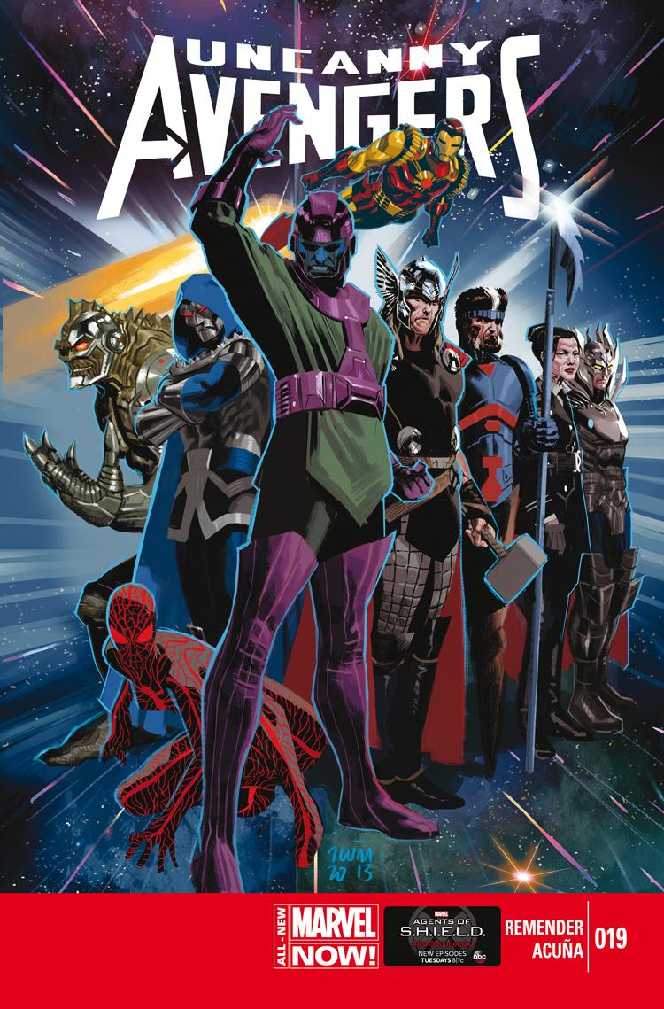 Uncanny Avengers (2012) #19