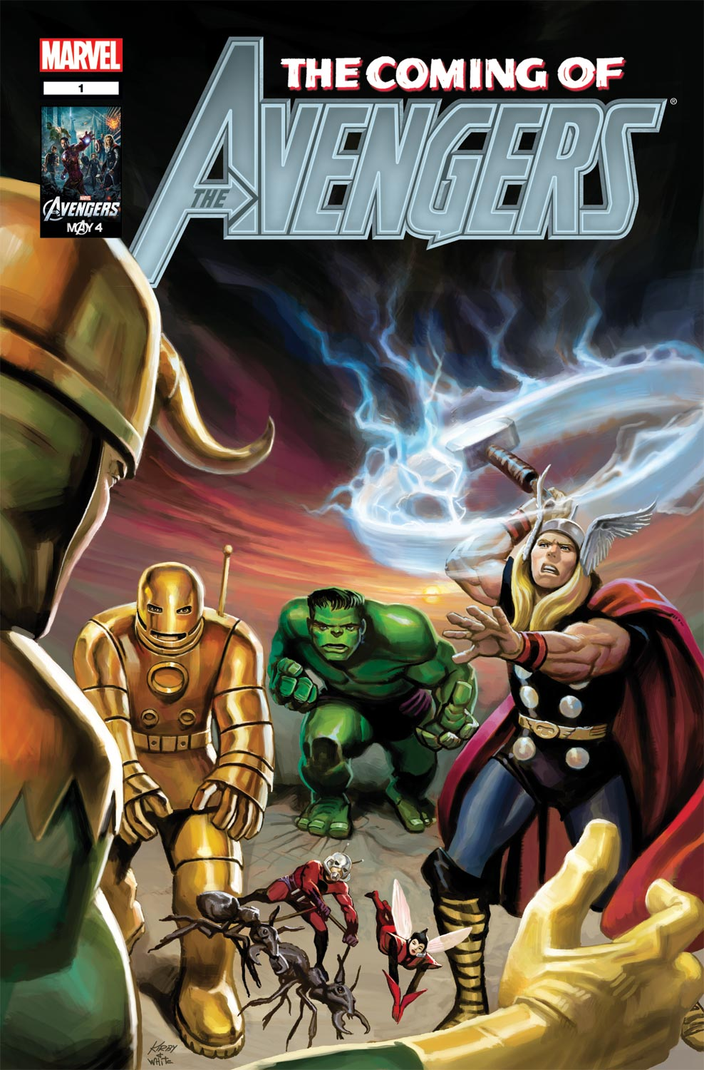 Avengers: The Coming of the Avengers! (2011) #1