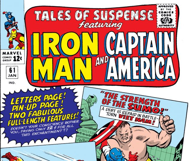 Tales of Suspense (1959) #61 Cover