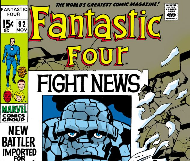 Fantastic Four (1961) #92 Cover