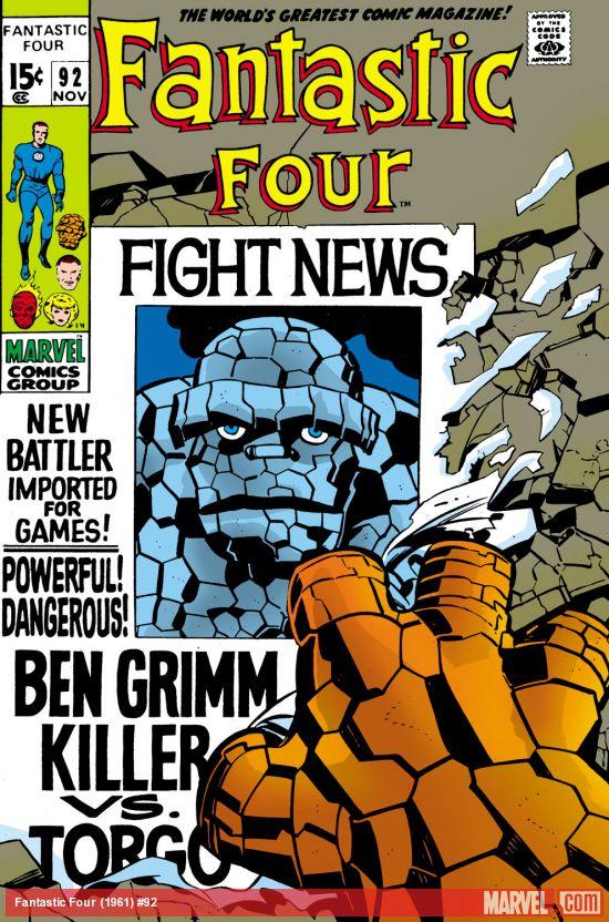 Fantastic Four (1961) #92