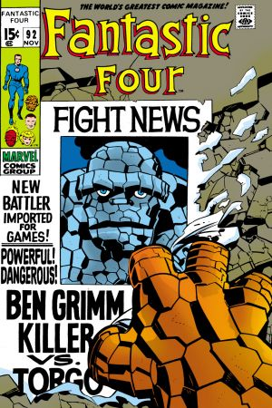 Fantastic Four #92