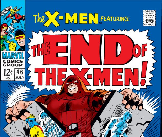 Uncanny X-Men (1963) #46 Cover