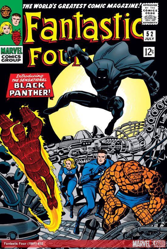 Image result for Fantastic Four #52 (July 1966)