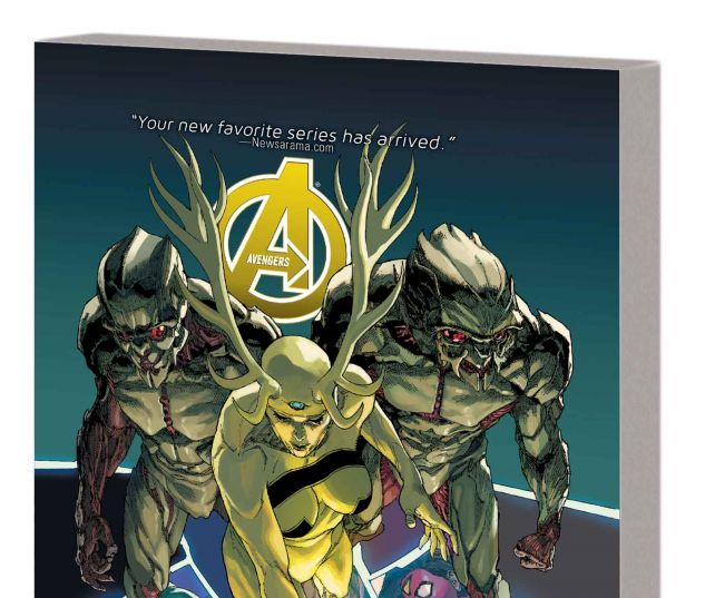 AVENGERS VOL. 3: PRELUDE TO INFINITY TPB (MARVEL NOW)