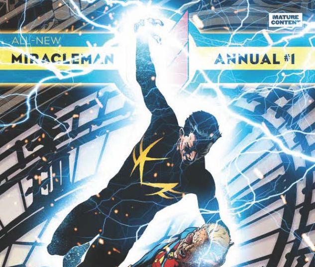 All-New Miracleman Annual #1 variant cover by Joe Quesada