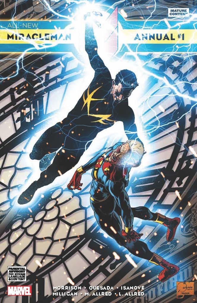 All-New Miracleman Annual (2014) #1 (Quesada Variant)