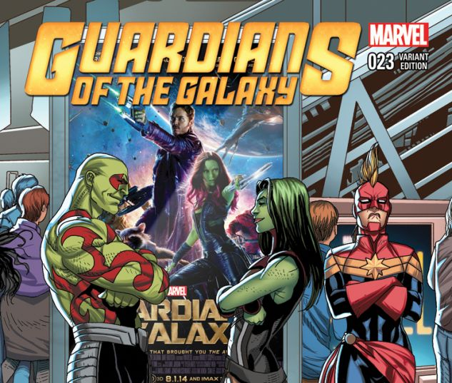 GUARDIANS OF THE GALAXY 23 LARROCA WELCOME HOME VARIANT (WITH DIGITAL CODE)