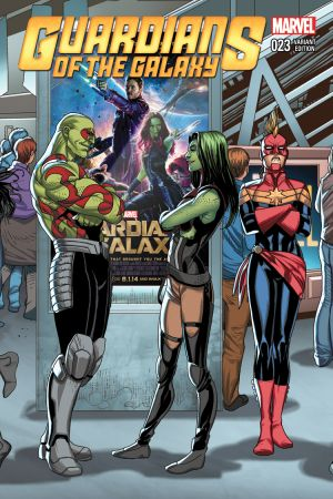Guardians of the Galaxy (2013) #23 (Larroca Welcome Home Variant)