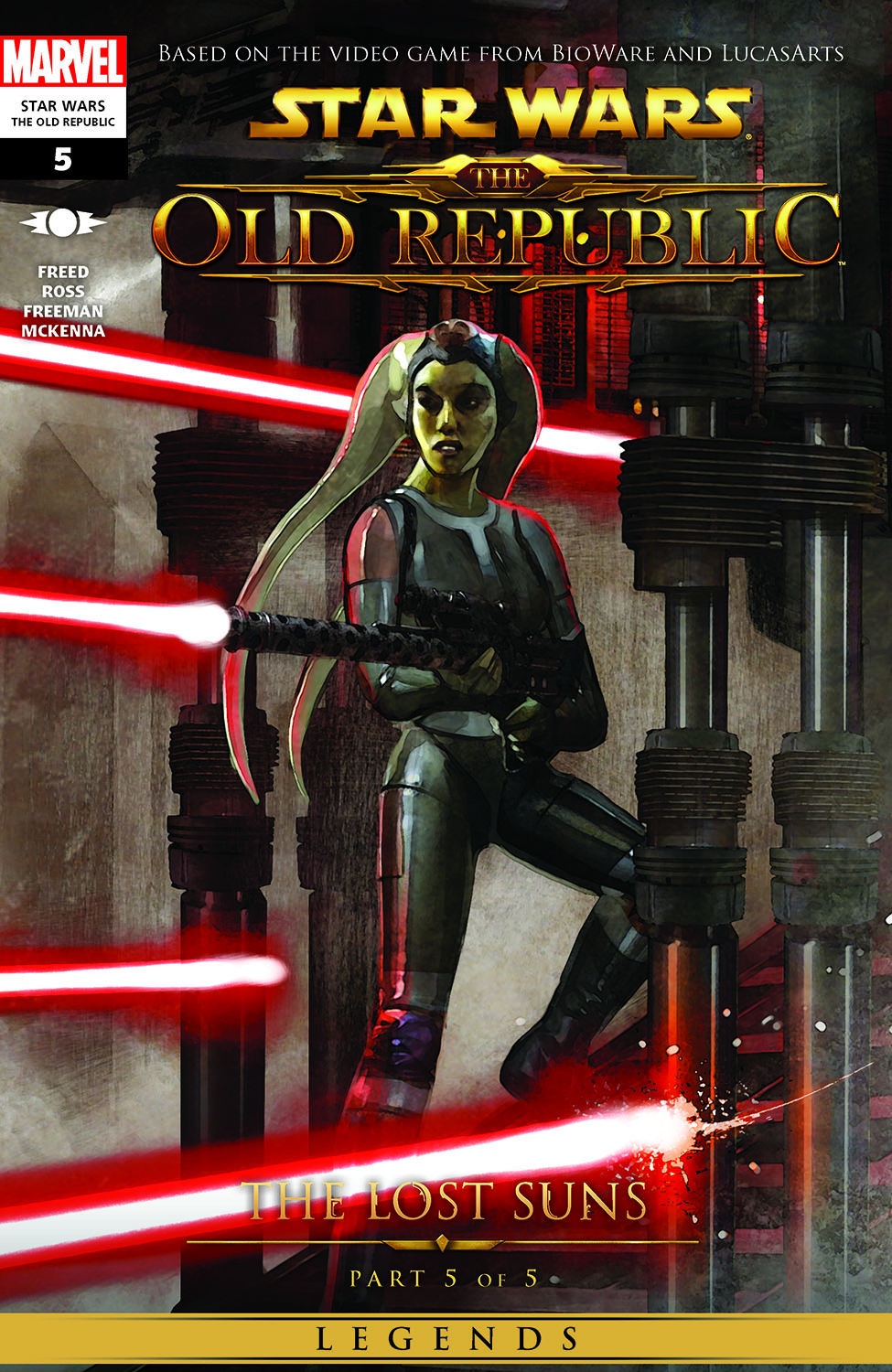 Star Wars: The Old Republic - The Lost Suns (2011) #5