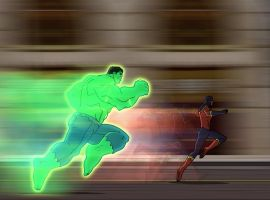 Hulk catches up to Speed Demon
