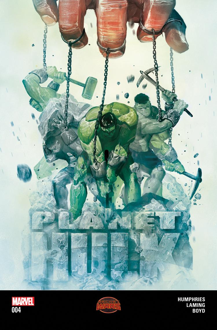 Planet Hulk (2015) #4