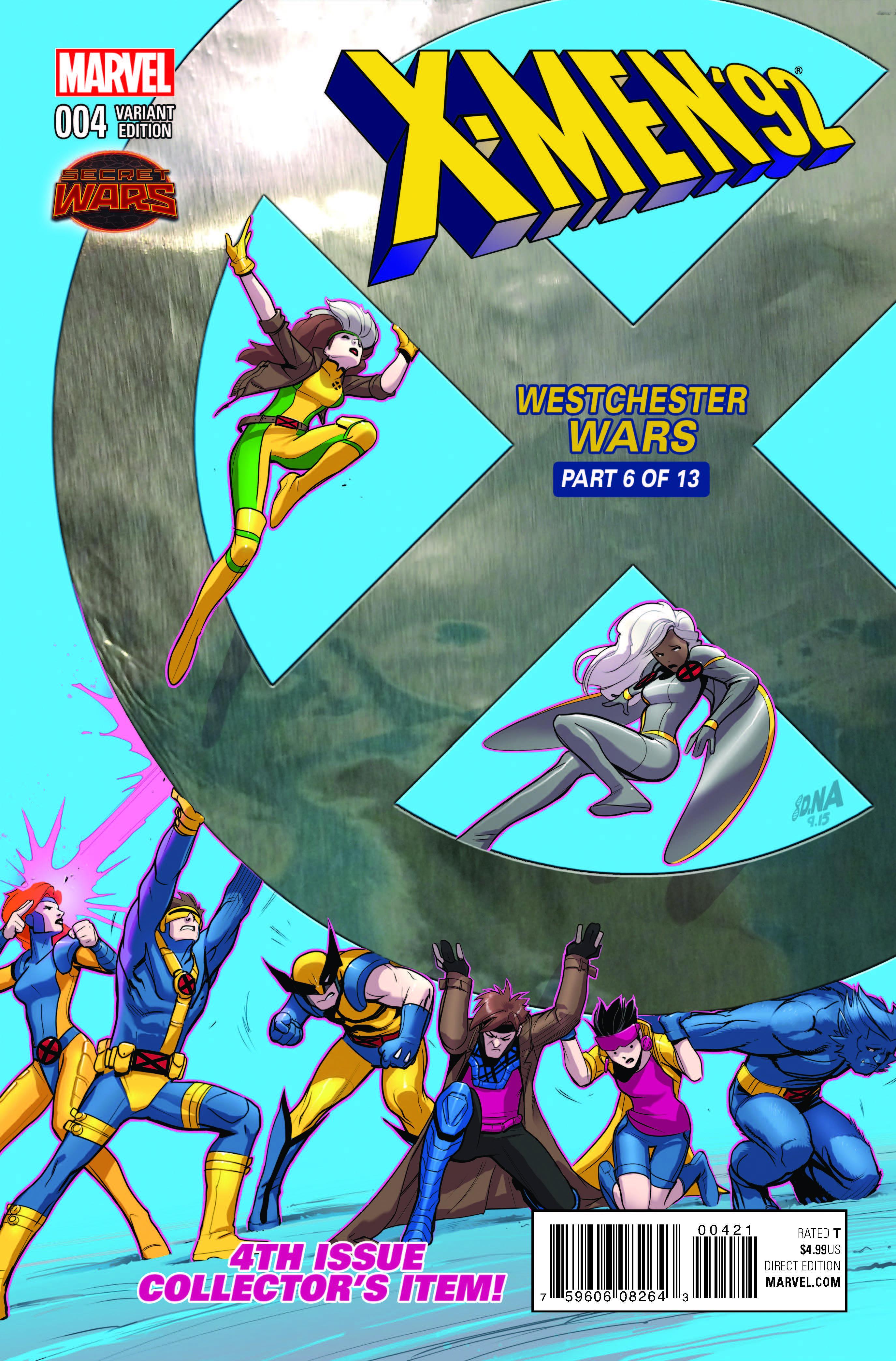 X-Men '92 (2015) #4 (Nakayama Variant)