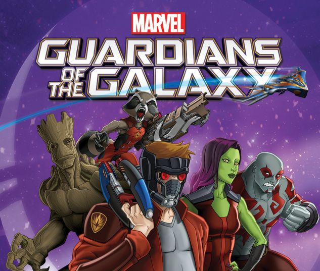 cover from Marvel Universe Guardians of the Galaxy (2015B) #2