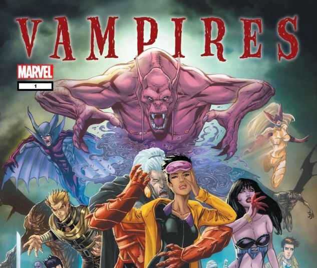 Marvel Vampires Handbook (2010) #1 Cover