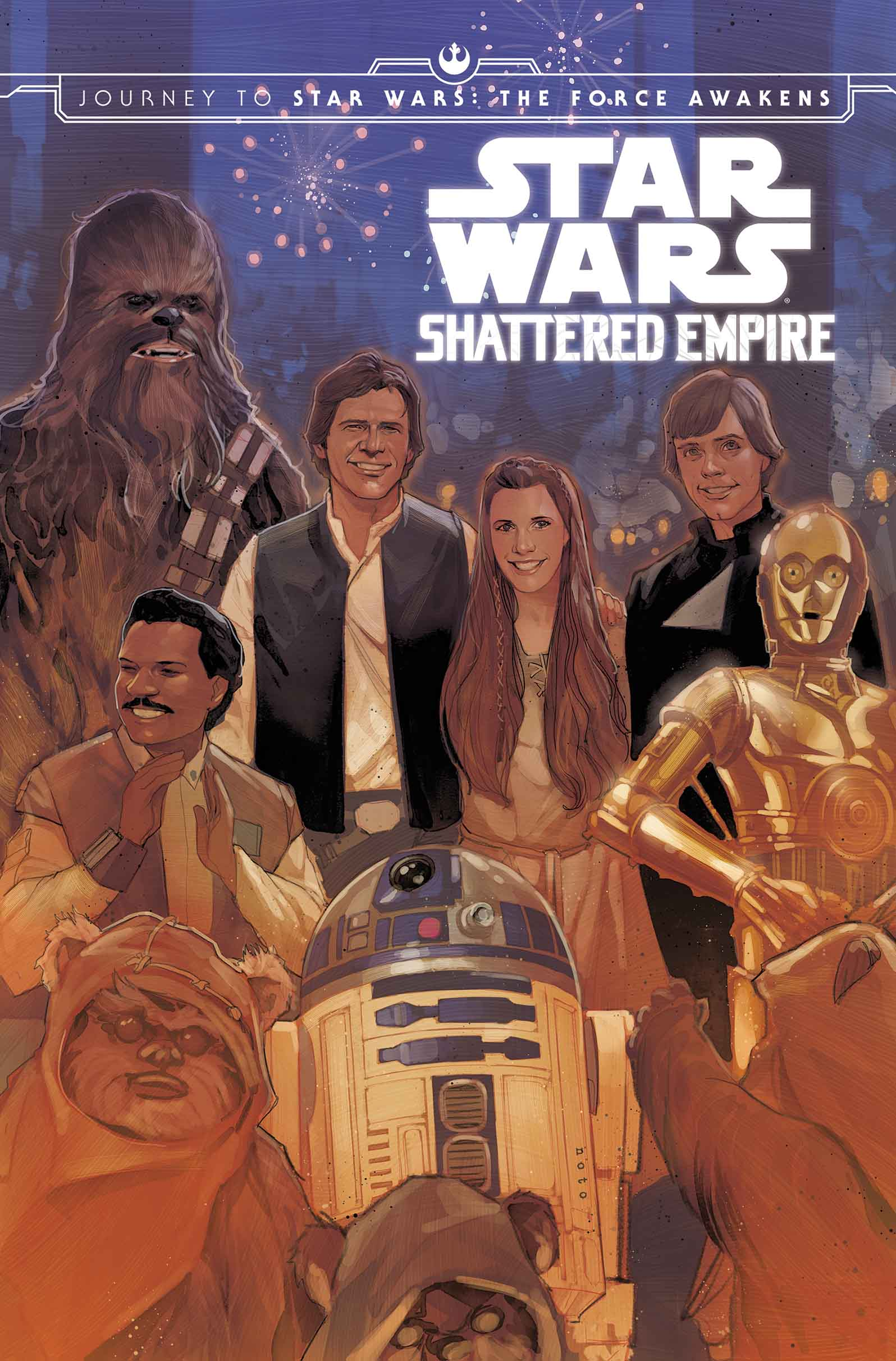 True Believers: Shattered Empire (2016) #1