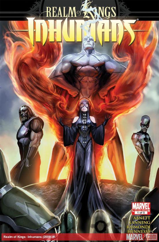 Realm of Kings: Inhumans (2009) #1