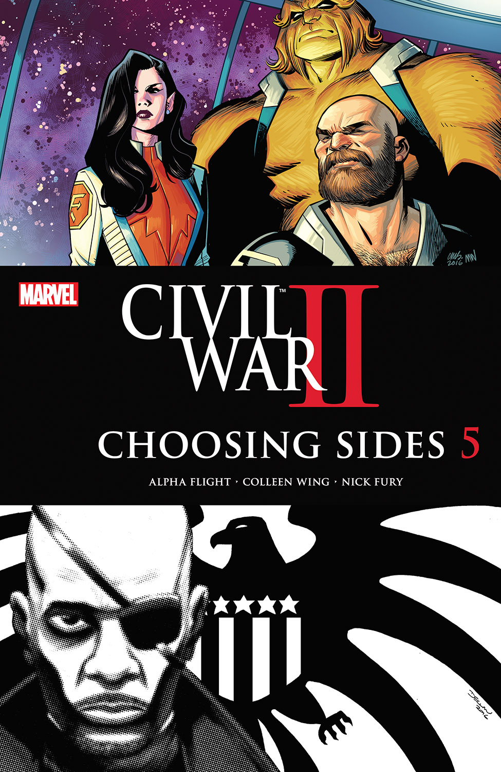 Civil War II: Choosing Sides (2016) #5