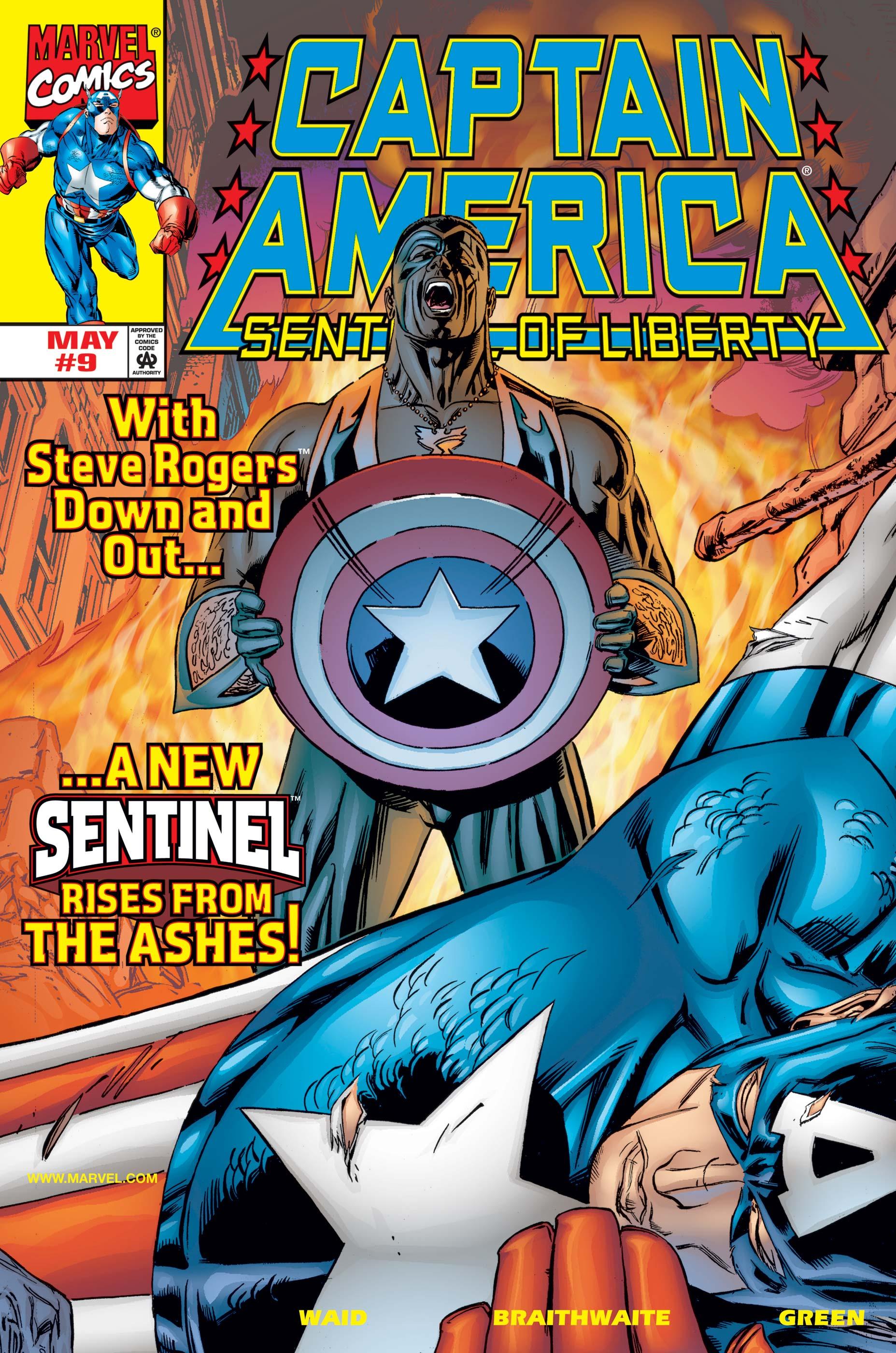 Captain America: Sentinel of Liberty (1998) #9