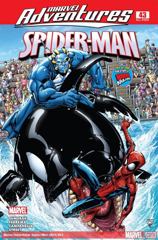Marvel Adventures Spider-Man (2005) #43