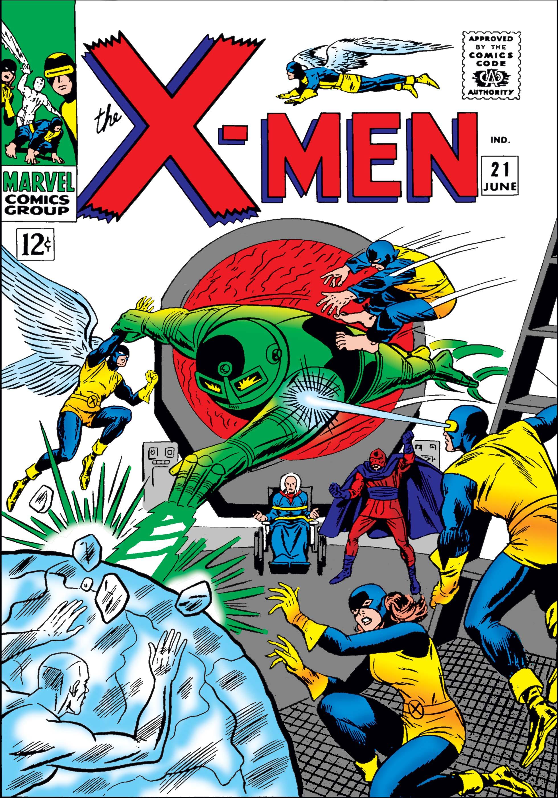 Uncanny X-Men (1963) #21