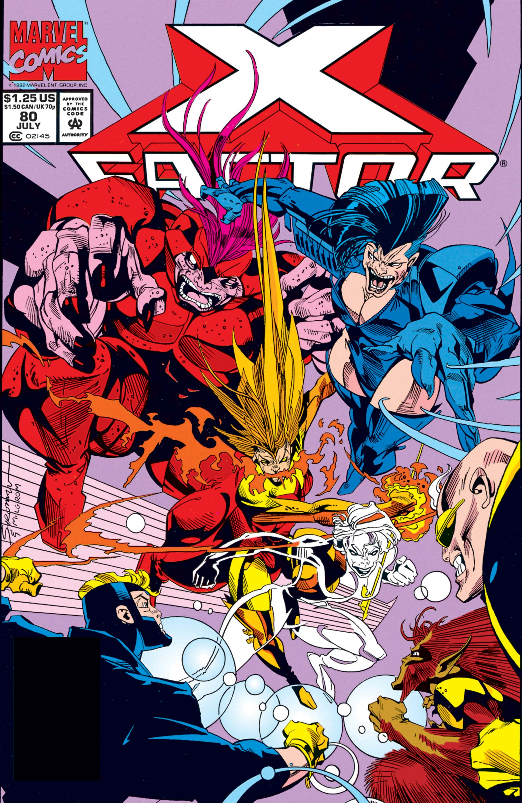 X-Factor (1986) #80