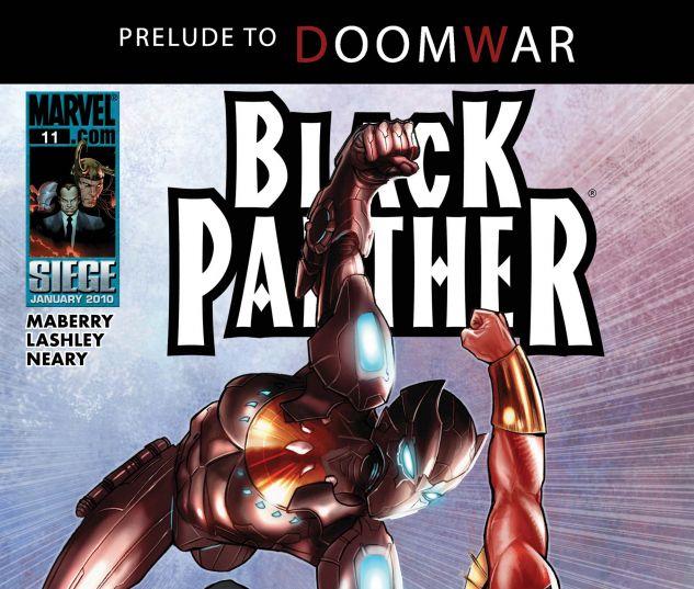 BLACK PANTHER (2008) #11