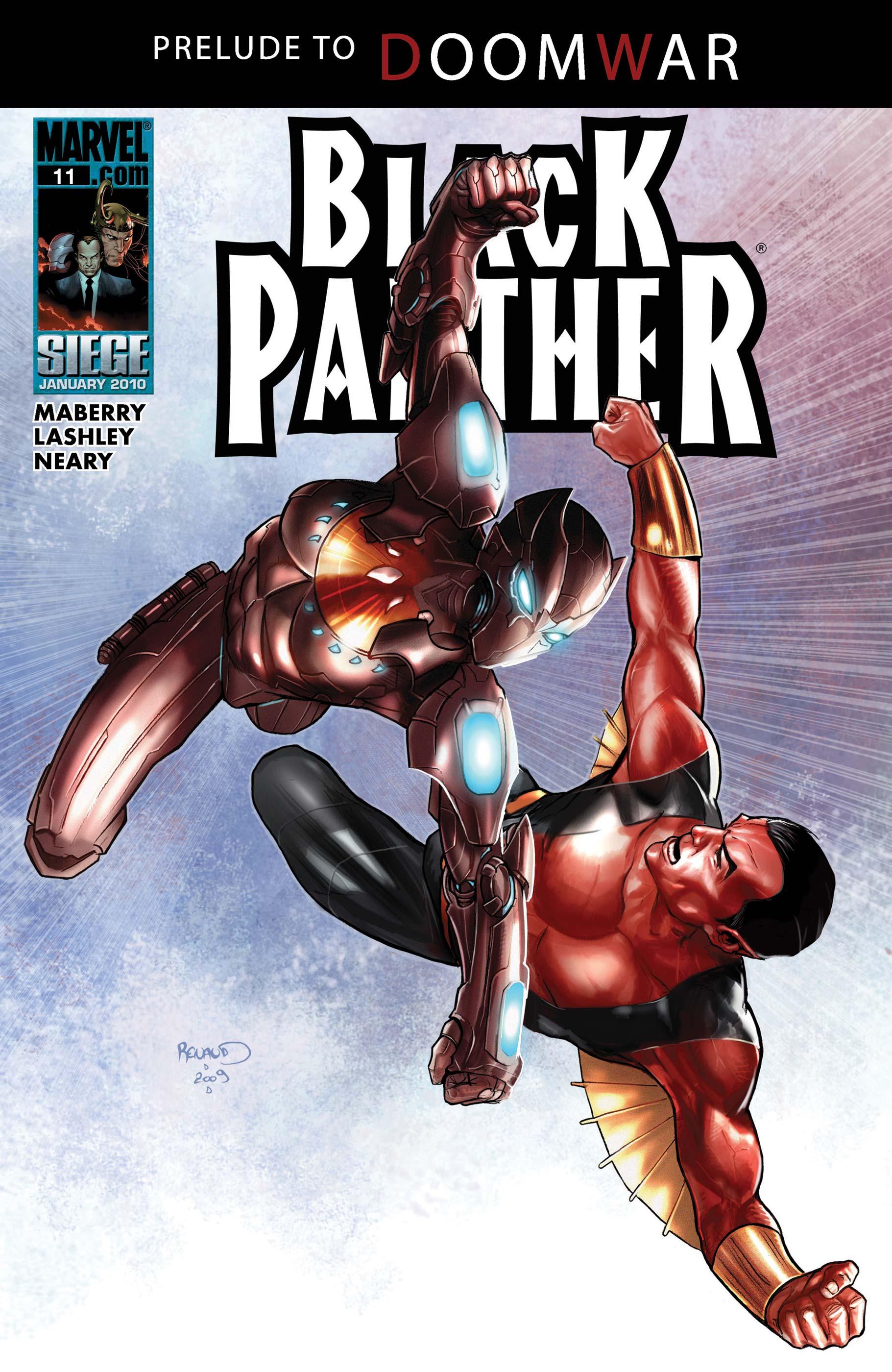 Black Panther (2009) #11
